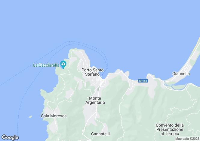 Map for Monte Argentario, Grosseto, Tuscany