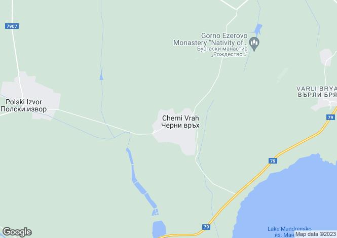 Map for Cherni Vrukh, Burgas