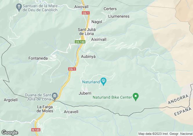 Map for Sant Julià de Lòria