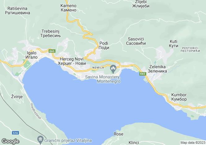 Map for Herceg-Novi