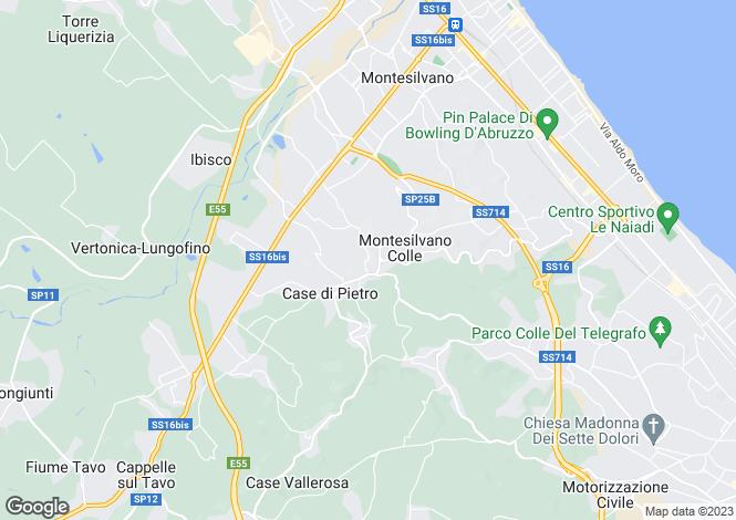 Map for Villa Paradiso, Pescara, Abruzzo