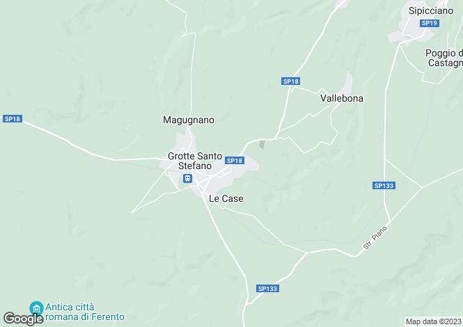 Map for Lazio, Viterbo, Viterbo