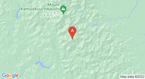 map of 1839 Metre Summit (Japan)