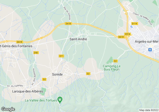 Map for 66690 sorede
