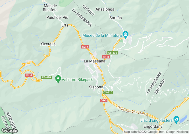 Map for La Massana, Andorra, Andorra