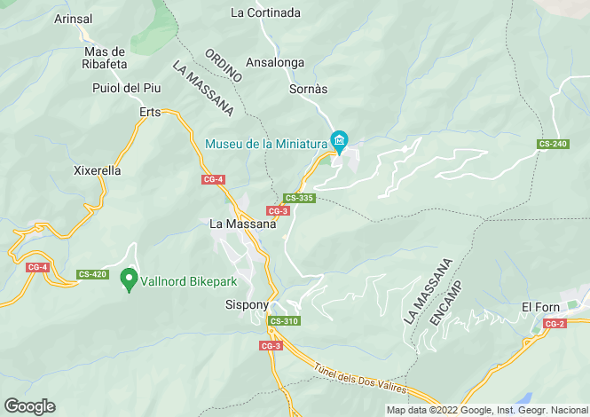 Map for Massana (La)