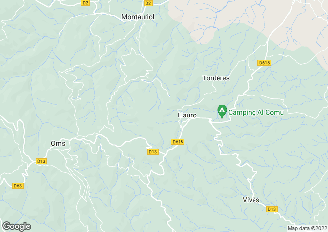 Map for Llauro, Llauro, France
