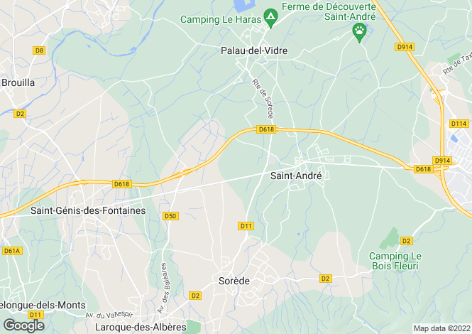Map for 66740 st-genis-des-fontaines