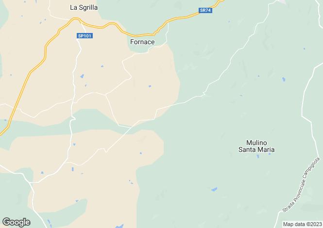 Map for Tuscany, Grosseto, Capalbio