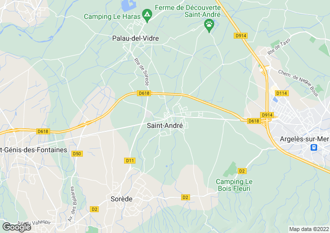 Map for Saint-Andre, Languedoc-Roussillon, France