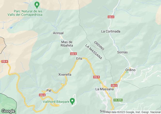 Map for La Massana