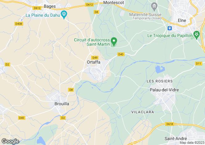 Map for 66560 ortaffa