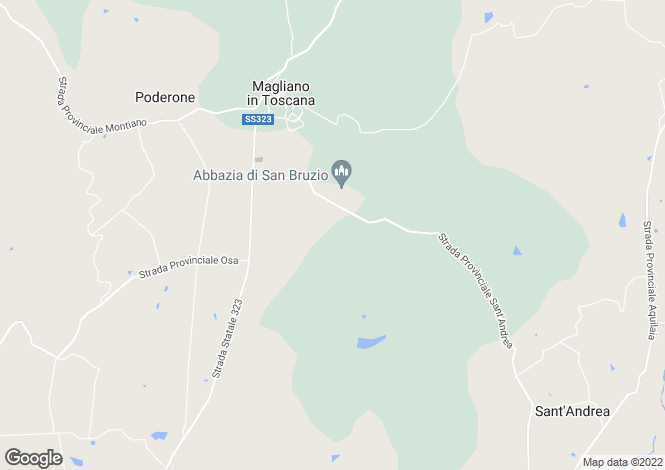 Map for Tuscany, Grosseto, Magliano in Toscana