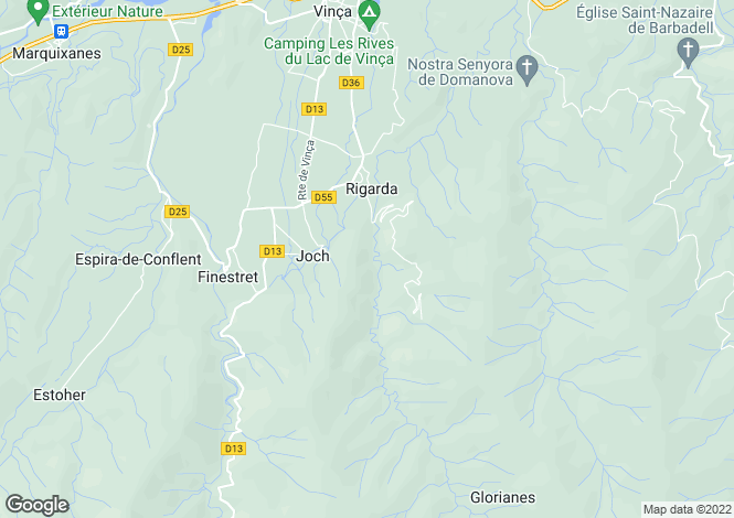 Map for joch, Pyrénées-Orientales, France