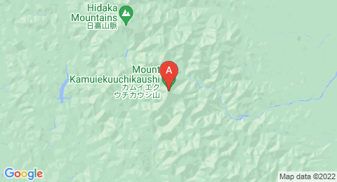 map of Mount Kamuiekuuchikaushi (Japan)