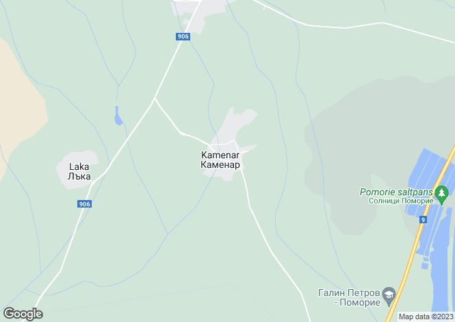 Map for Kamenar, Burgas