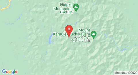 map of Mount Idonmappu (Japan)