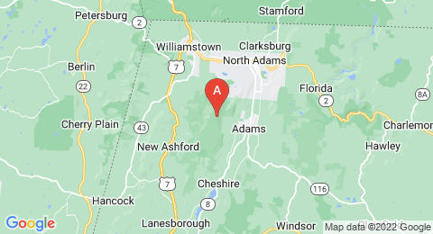 map of Mount Greylock (United States of America)