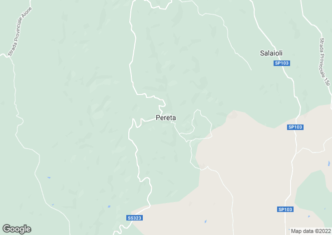 Map for Pereta, Tuscany, Italy