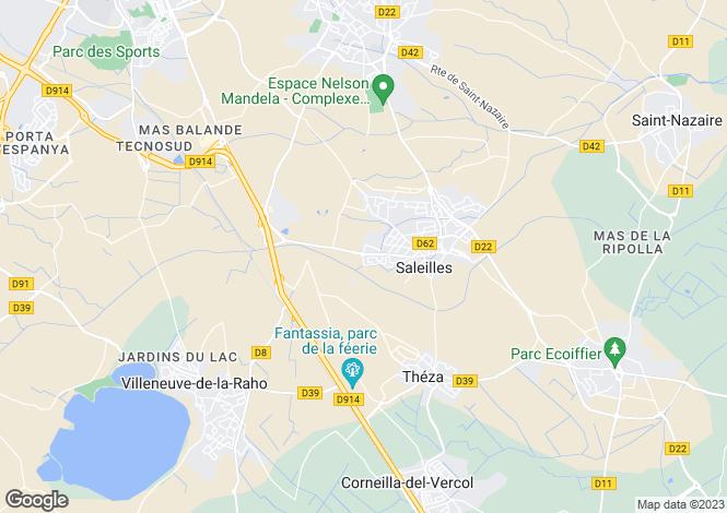 Map for Secteur: Perpignan, Pyrenees-Orientales