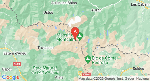 map of Pic de Sotllo (France)