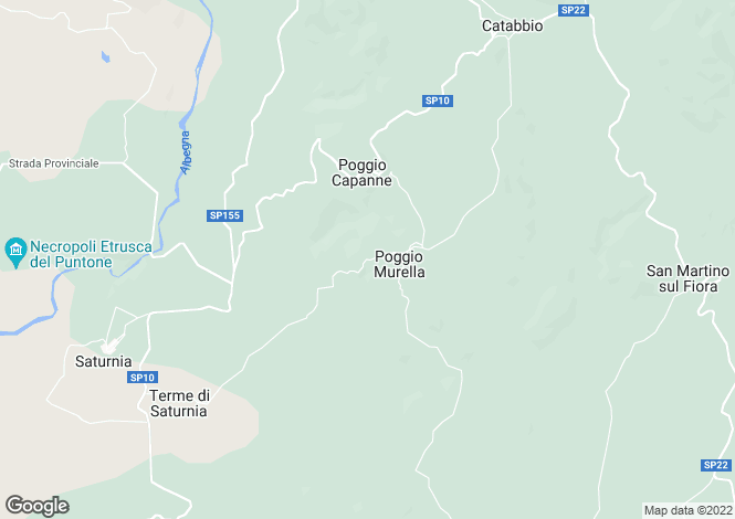Map for Tuscany, Grosseto, Manciano