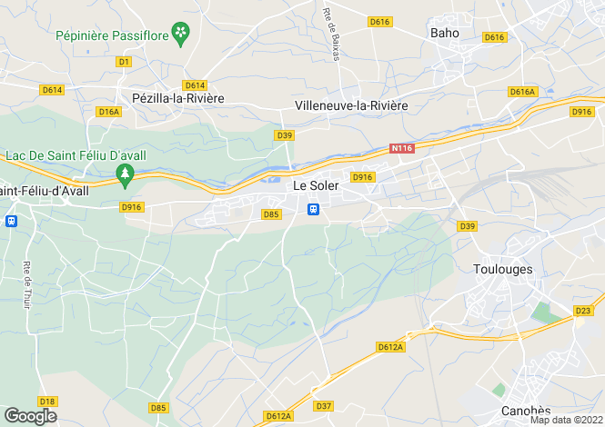 Map for Le Soler, Languedoc-Roussillon, France