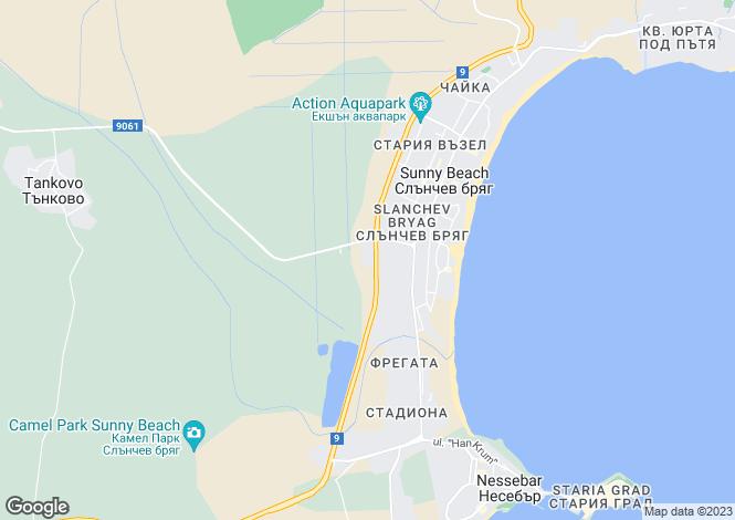 Map for Burgas, Burgas