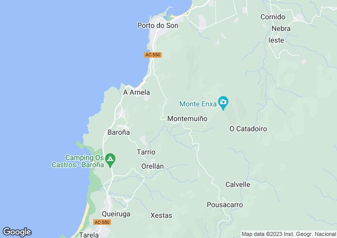 Map for Porto do Son, A Coruña, Galicia