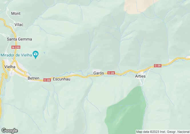 Map for Salardu, Lleida, Catalonia