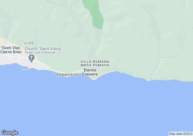 Map for Elenite, Burgas