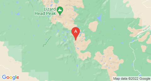 map of Wind River Peak (United States of America)