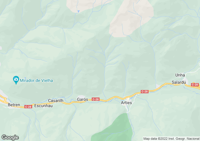 Map for Lleida, Lleida, Catalonia