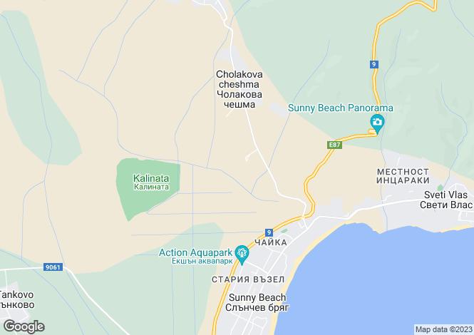 Map for Kosharitsa, Burgas
