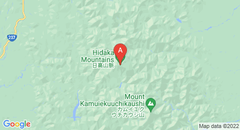 map of Mount Poroshiri (Japan)