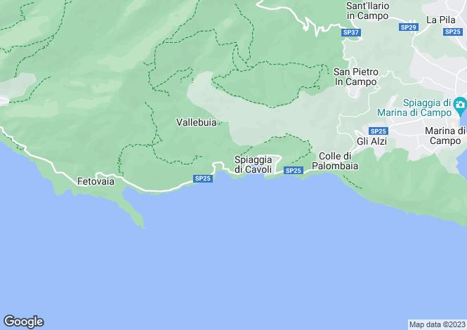 Map for Tuscany, Isola D'elba, Marina di Campo