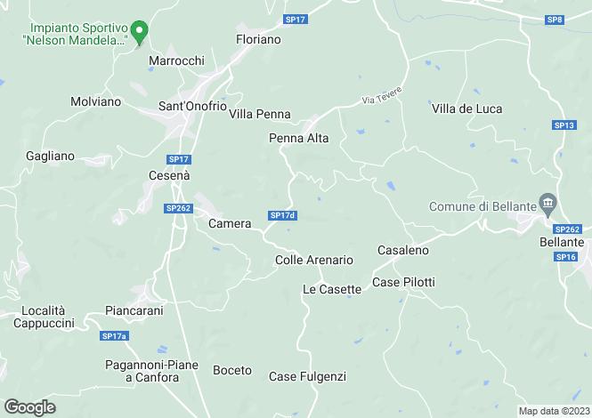 Map for Bellante, Teramo, Abruzzo