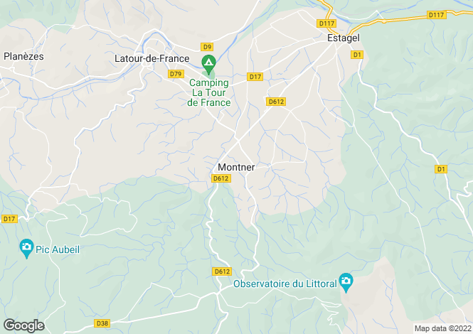 Map for Tours, Centre, 66720, France