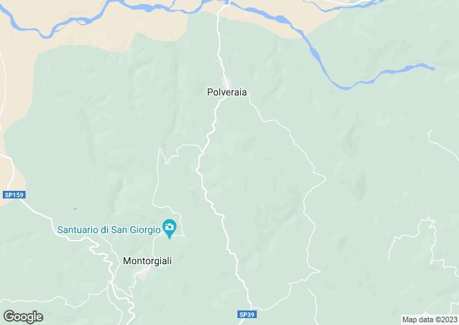 Map for Tuscany, Grosseto, Scansano