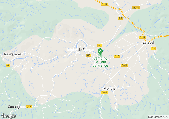 Map for Latour De France, Pyrenees-Orientales, 66720, France