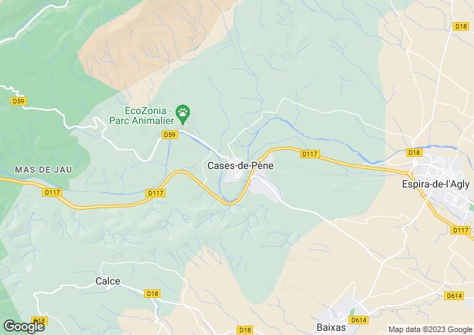 Map for Secteur: Espira-de-l'Agly, Pyrenees-Orientales