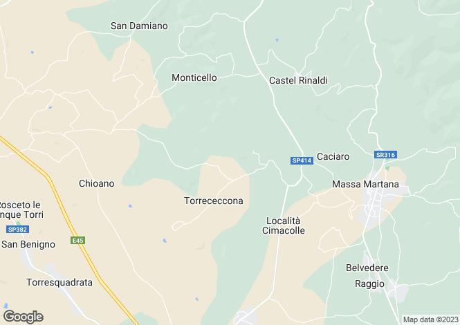 Map for Todi, Perugia, Italy