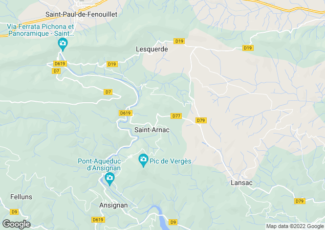 Map for Saint Arnac, Pyrenees-Orientales, 66220, France