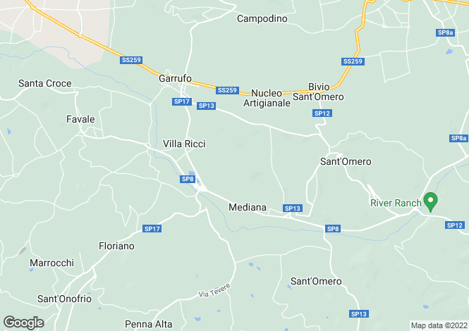 Map for Abruzzo, Teramo, Sant Omero