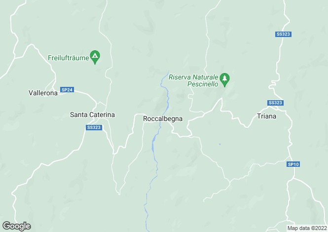 Map for Tuscany, Grosseto, Roccalbegna