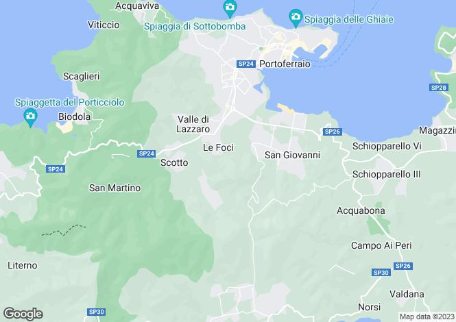 Map for Livorno, Livorno, Tuscany