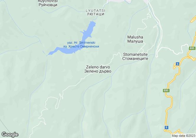 Map for Zeleno Darvo, Gabrovo