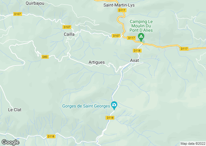 Map for LANGUEDOC-ROUSSILLON, AUDE, EXCLUSIVE VILLA WITH VIEWS