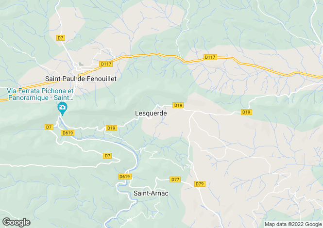 Map for Lesquerde, Pyrenees-Orientales, 66220, France