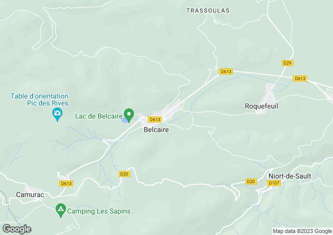 Map for LANGUEDOC-ROUSSILLON, , EXCLUSIF PAYS DE SAULT